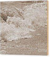 Lake Waves Wood Print