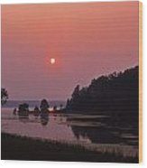 Land-between-the-lakes Sunset - 1 Wood Print