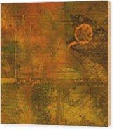 Landscape Of Mars Wood Print