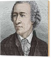Leonhard Euler, Swiss Mathematician Wood Print