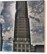Liberty Building Wood Print