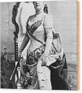 Lillian Russell (1861-1922) Wood Print