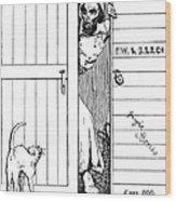 Lincoln Cartoon, 1863 Wood Print
