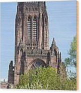 Liverpool Anglican Cathedral Wood Print