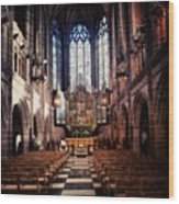 #liverpoolcathedrals #liverpoolchurches Wood Print
