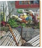Lobster Shack Wood Print