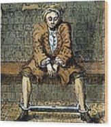 London: Debtors Prison Wood Print