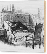 Longfellow: Evangeline Wood Print