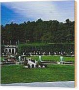 Longwood Gardens Fountain Garden Wood Print