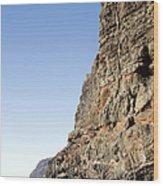 Los Gigantes Cliffs Wood Print