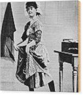 Lotta Crabtree (1847-1924) Wood Print