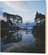 Lough Leane, Lakes Of Killarney Wood Print