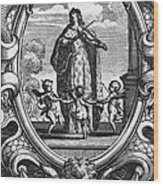 Louis, Dauphin Of France Wood Print