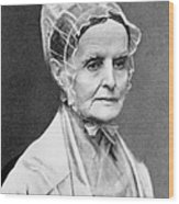 Lucretia Coffin Mott Wood Print by Granger