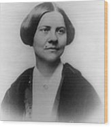 Lucy Stone, American Abolitionist Wood Print