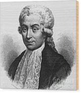 Luigi Galvani, Italian Physician Wood Print