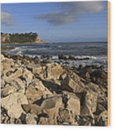 Lunada Bay Wood Print