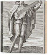 Lute, 1723 Wood Print by Granger