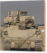 M2m3 Bradley Fighting Vehicle Wood Print