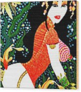 Ma Belle Salope Chinoise No.15 Wood Print