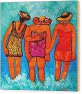 Mamas New Hat Wood Print