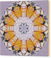 Mandala Of Love Wood Print