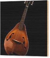 Mandolin Wood Print
