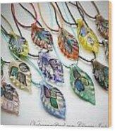 Marano Jewelry Wood Print