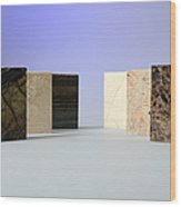 Marble Wood Print