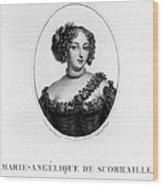 Marie-ang�lique De Rousille Wood Print