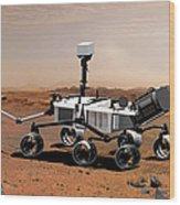 Mars Science Laboratory Wood Print