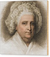 Martha Washington, American Patriot Wood Print