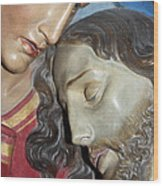 Mary Tears Wood Print