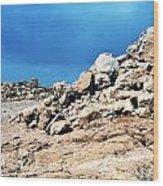 Masada Wood Print