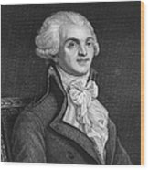 Maximilien Robespierre Wood Print