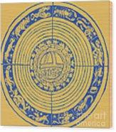 Medieval Zodiac Wood Print