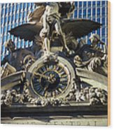 Mercury At Grand Central Wood Print