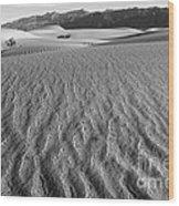 Mesquite Dunes 15 Wood Print