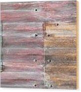 Metal Background Wood Print by Tom Gowanlock