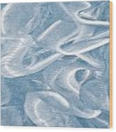 Metallic Background Wood Print by Tom Gowanlock