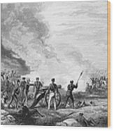 Mexican War: Palo Alto Wood Print