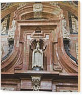 Mezquita Cathedral Architectural Details Wood Print
