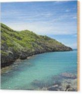 Minamijima Island Wood Print