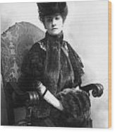 Minnie Maddern Fiske Wood Print