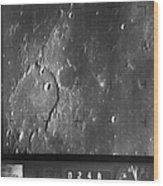Moon: Ranger 7, 1964 Wood Print
