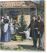 Mormon Wives, 1875 Wood Print