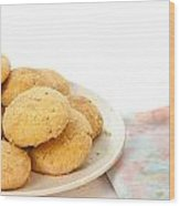 Moroccan Biscuits Wood Print