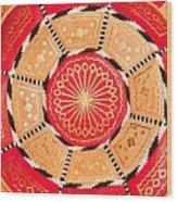 Moroccan Cushion Wood Print