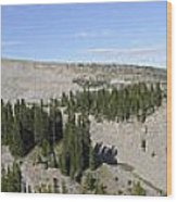 Mount Hood Pano Wood Print