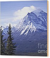 Mountain Landscape Wood Print